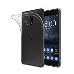 Silikonový kryt pro Nokia 7 - průhledný