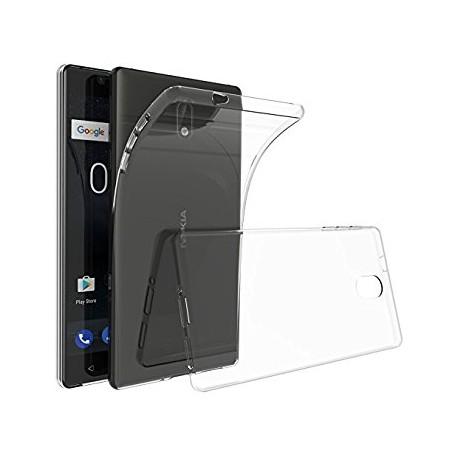 Silikonový kryt pro Nokia 3 - průhledný