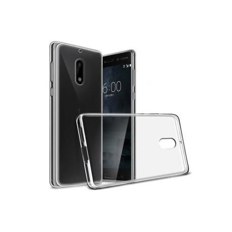 Silikonový kryt pro Nokia 8 - průhledný