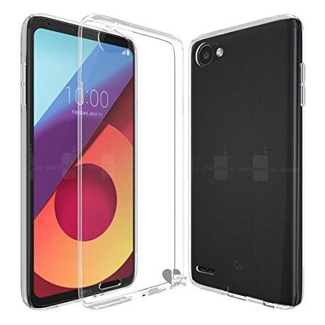 Silikonový kryt pro LG Q6 - průhledný