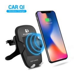 Bezdrátová Qi nabíječka / držák do auta