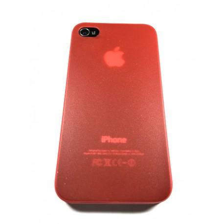Ultratenký kryt Apple iPhone 4 / 4S červený