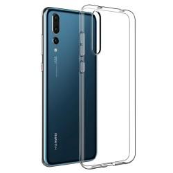 Silikonový kryt pro Huawei P20 Pro - průhledný