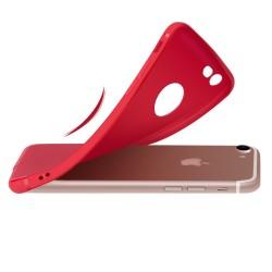 Silikonový kryt pro iPhone 5/5S/SE - červený