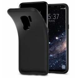 Silikonový kryt pro Samsung Galaxy S9 - černý