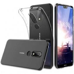 Silikonový kryt pro Nokia X6 (2018) / 6.1 Plus- průhledný