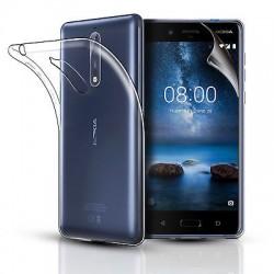 Silikonový kryt pro Nokia X5 (2018) / 5.1 Plus- průhledný