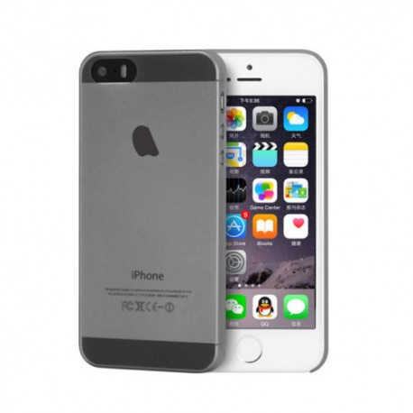 Ultratenký kryt Apple iPhone 5/5S šedý
