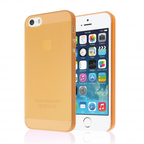 Ultratenký kryt Apple iPhone 5/5S oranžový