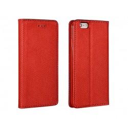 Flipové pouzdro Smart Magnet pro Huawei P20 Lite - červené