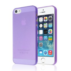 Ultratenký kryt Apple iPhone 5/5S/SE fialový