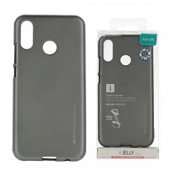 Pouzdro Mercury i-Jelly Metal pro Huawei P20 Lite - šedé