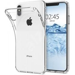 Silikonový kryt pro Apple iPhone Xs Max  - průhledný