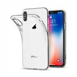 Silikonový kryt pro Apple iPhone Xr - průhledný