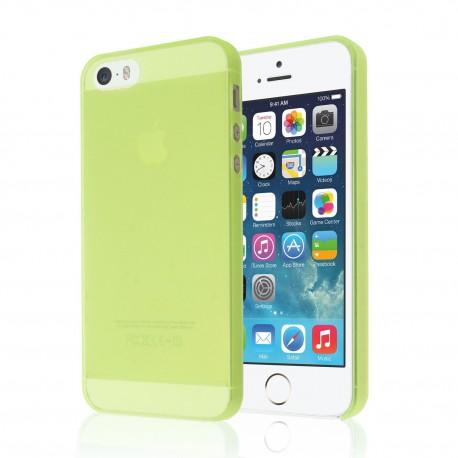 Ultratenký kryt Apple iPhone 5/5S/SE zelený