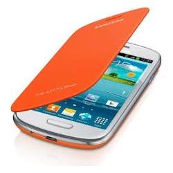 Flipové pouzdro Samsung Galaxy S3 - oranžové