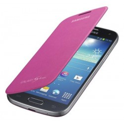 Flipové pouzdro Samsung Galaxy S4 mini - fialové