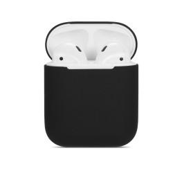 Pouzdro / obal pro AirPods silikonové - černé