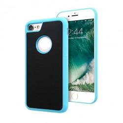 Antigravitační kryt pro Apple iPhone 5/5S/SE - modrý