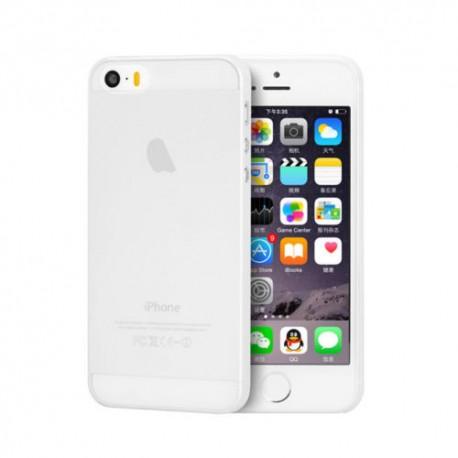 Ultratenký kryt Apple iPhone 5/5S/SE bílý