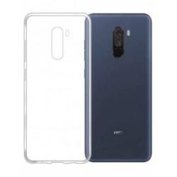 Silikonový kryt pro Xiaomi Pocophone F1 - průhledný