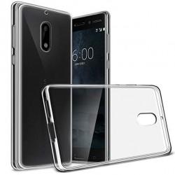Silikonový kryt pro Nokia 6 (2017) - průhledný