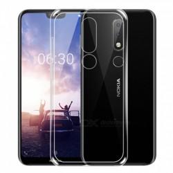 Silikonový kryt pro Nokia 6.1 - průhledný