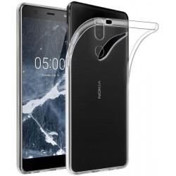 Silikonový kryt pro Nokia 5.1 - průhledný