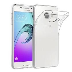 Silikonový kryt pro Samsung A5 (2018) / A8 (2018) - průhledný