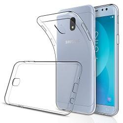 Silikonový kryt pro Samsung Galaxy J3 (2017) - průhledný