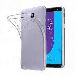Silikonový kryt pro Samsung Galaxy J6 (2018) - průhledný