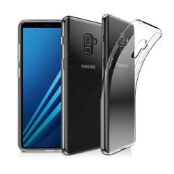 Silikonový kryt pro Samsung Galaxy J8 (2018) - průhledný