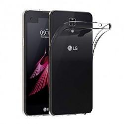Silikonový kryt pro LG X Screen - průhledný