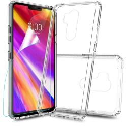 Silikonový kryt pro LG G7 - průhledný