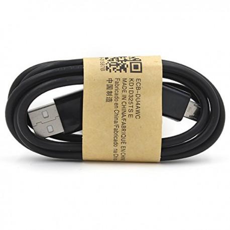 Micro USB datový a nabíjecí kabel černý 1m OEM ECB-DU4AWC