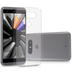 Silikonový kryt pro LG Q8 - průhledný