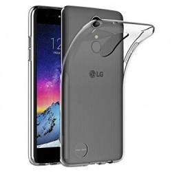 Silikonový kryt pro LG K8 (2018) - průhledný