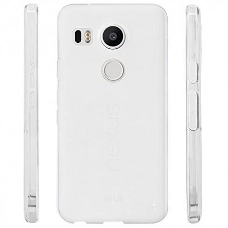 Ultratenký silikonový kryt pro LG Nexus 5 - průhledný