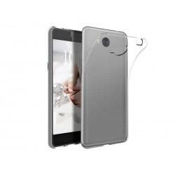Silikonový kryt pro Huawei Y5 (2018) - průhledný