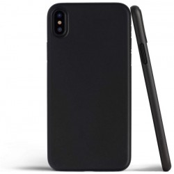 Silikonový kryt pro Apple iPhone XS Max - černý