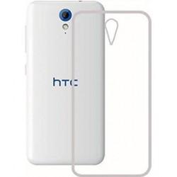 Silikonový kryt pro HTC Desire 620 - průhledný