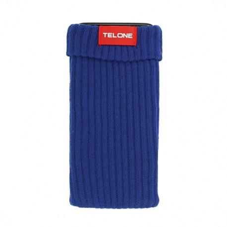 Telone textilní pouzdro na mobilní telefon 7x14cm - Modré