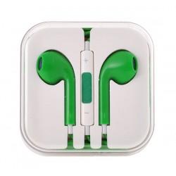 Sluchátka EarPods pro Apple iPhone/iPad-zelená