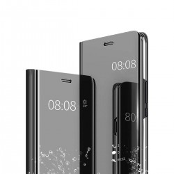 Zrcadlové pouzdro Clear View pro Apple iPhone X/Xs - černé