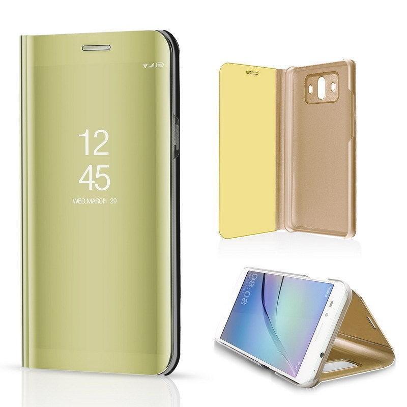 892178c44 ... Zrcadlové pouzdro Clear View pro Apple iPhone 6/6s - zlaté