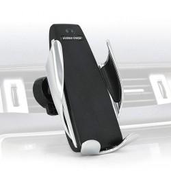 Qi bezdrátová nabíječka/držák do auta s automatickým upínáním