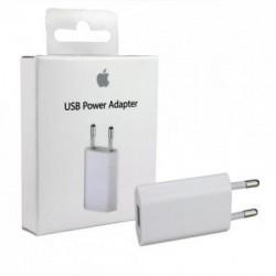 5W mini USB nabíječka / adaptér A1400 pro Apple iPhone / iPod (1A) bílá