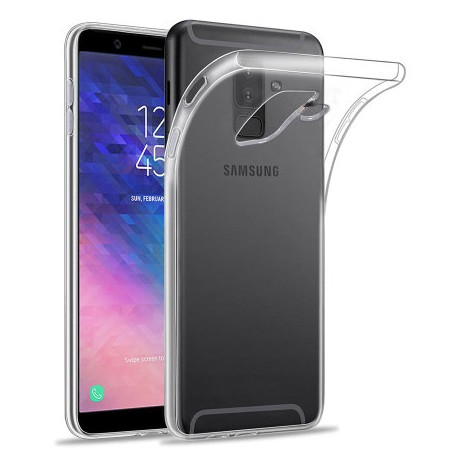 Silikonový kryt pro Samsung Galaxy A6 Plus 2018 - průhledný