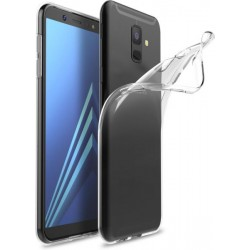 Silikonový kryt pro Samsung Galaxy A6 (2018) - průhledný