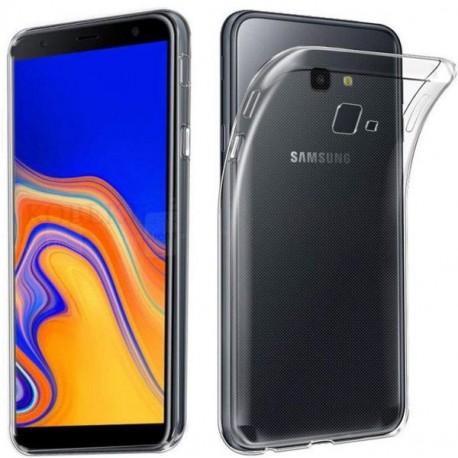 Silikonový kryt pro Samsung Galaxy J4 Plus - průhledný